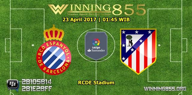 Prediksi Skor Espanyol vs Atletico Madrid 23 April 2017