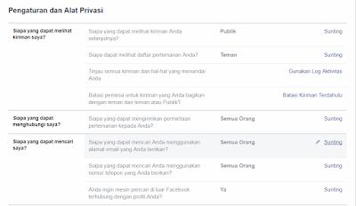 Cara Agar Orang Lain Tidak Bisa Menemukan Kita di Pencarian FB √  Cara Agar Orang Lain Tidak Bisa Menemukan Kita di Pencarian Facebook