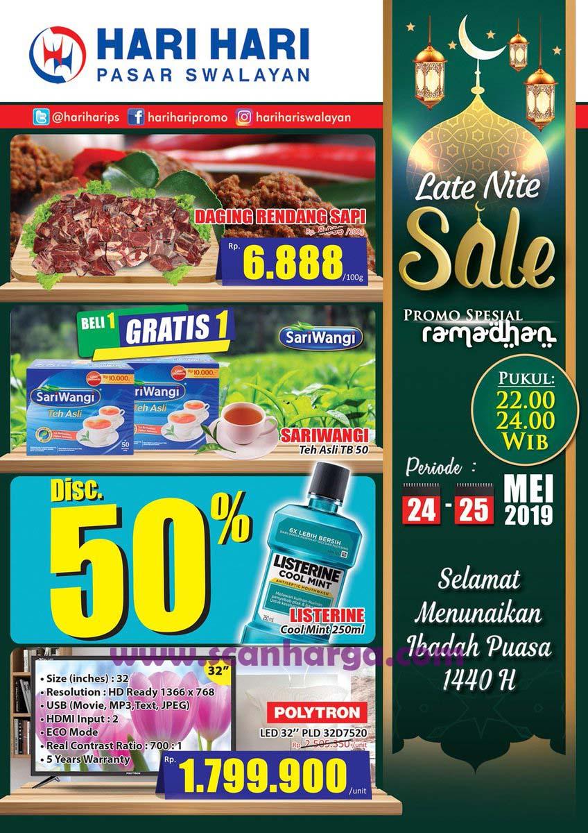 Hari Hari Pasar Swalayan Promo Spesial Tengah Malam Midnight Sale