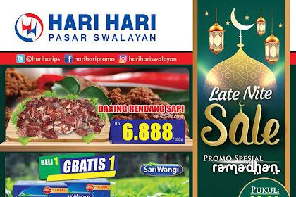Hari Hari Pasar Swalayan Promo Spesial Tengah Malam 24 - 25 Mei 2019