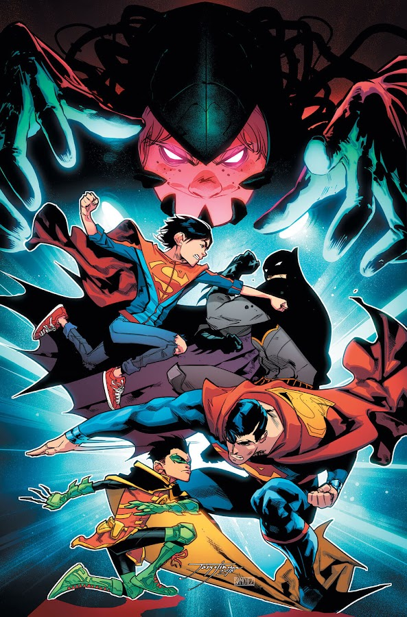 robin and superboy comic dc rebirth