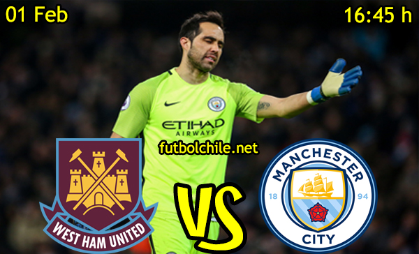 Ver stream hd youtube facebook movil android ios iphone table ipad windows mac linux resultado en vivo, online: West Ham United vs Manchester City