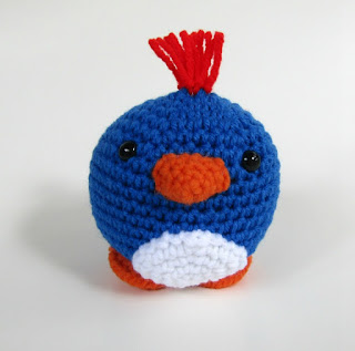 Bluebird Stuffed Toy on Etsy