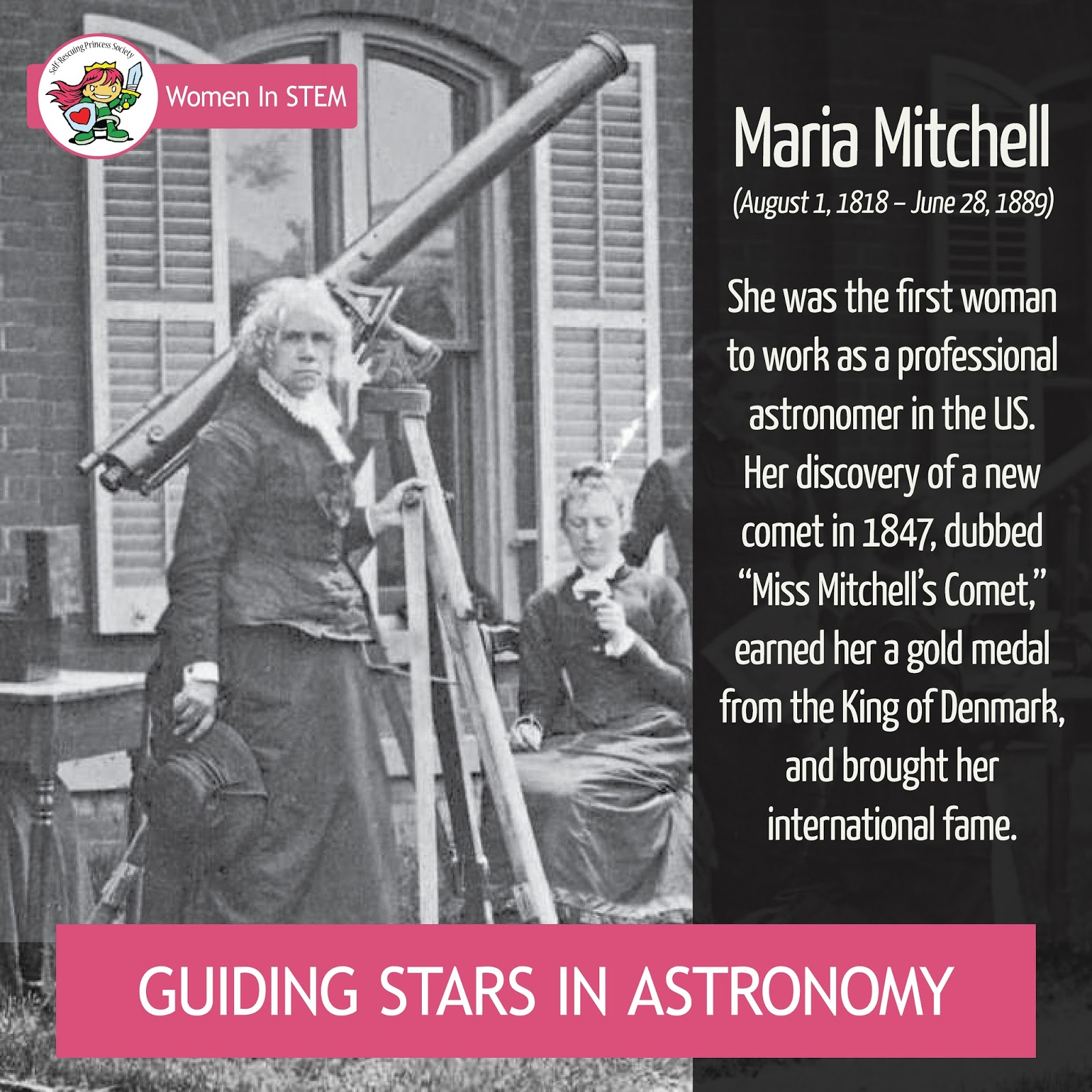 Maria Mitchell: Astronomer & Feminist