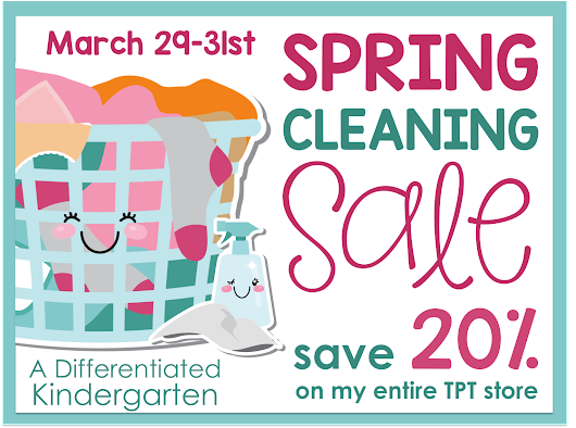 Spring Cleaning Sale 20% Off Everything.