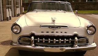 1955 Chrysler Desoto Fireflite Convertible Front