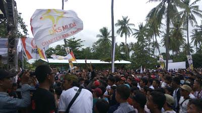 Ribuan Kader Muda PKS Kopdar di Pantai Anyer