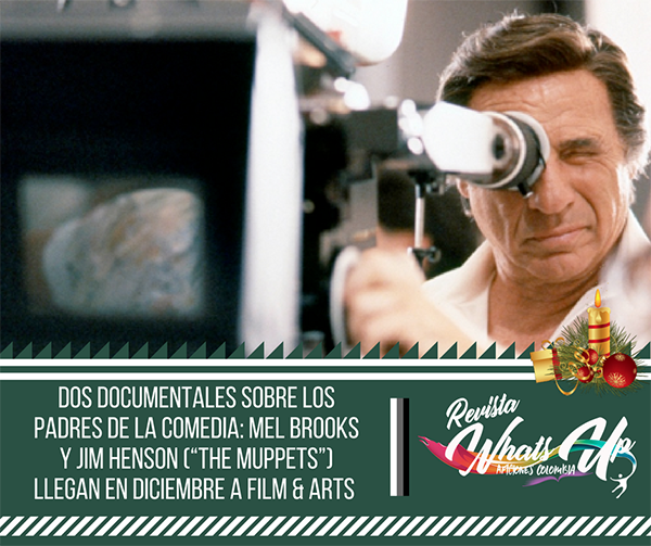 Dos-documentales-padres-comedia-Mel-Brooks-Jim-Henson-The-Muppets-Diciembre-Filmarts