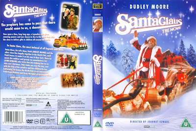 Carátula de Santa Claus pelicla 1985