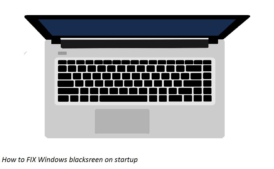 Masalah ini ditandai dengan laptop yang blank  6 Tutorial Mengatasi Laptop Tidak Bisa Masuk Windows (Dijamin Ampuh)