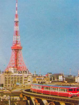 Gambar Kereta api monorel Jepang