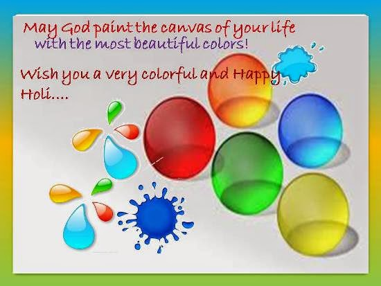 Holi Greetings 2015