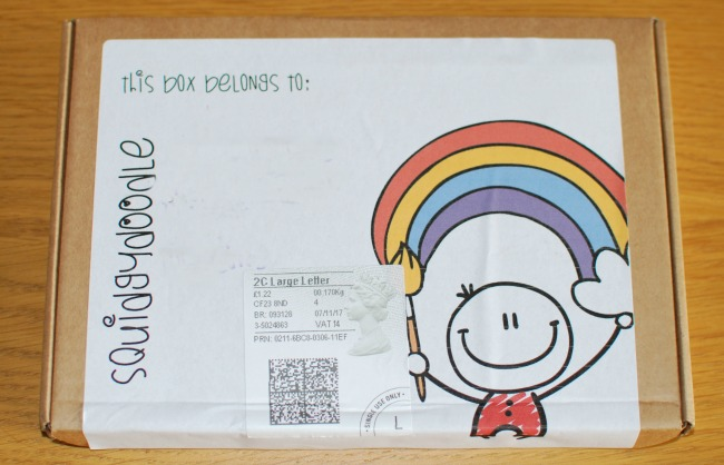 squidgydoodle-box-with-postage-and-logo-on-the-front