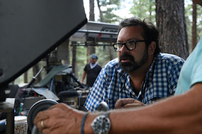 James Mangold on the set of Logan Movie (29)