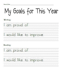 Student goal setting sheets for parent teacher conferences 3rd goal setting sheet that heshe filled out in class this is a nice way to have the students voice in a conference our pt conferences are adults only ibookread PDF