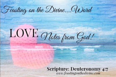 1st Love Note in new series on Feasting on the Divine with Trinka Polite