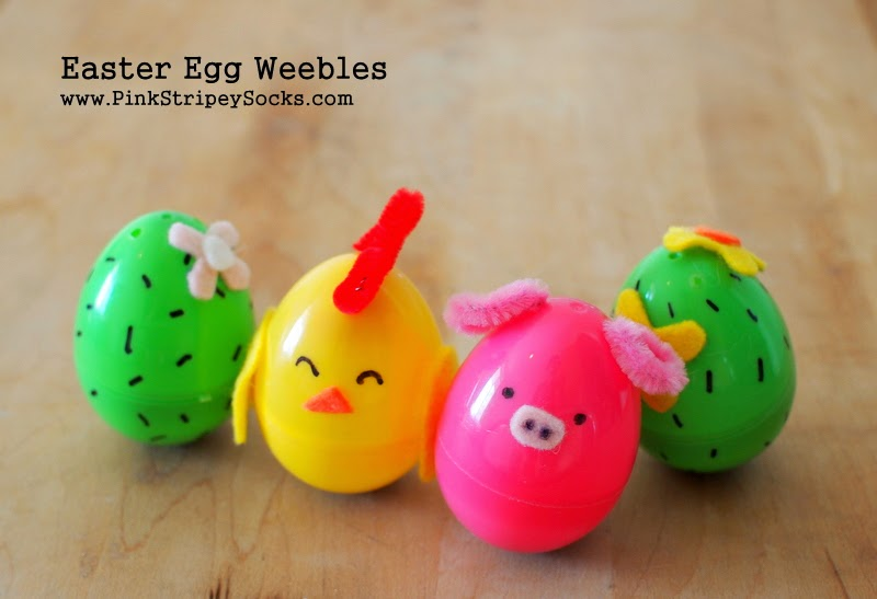 Make Plastic Easter Egg Weebles