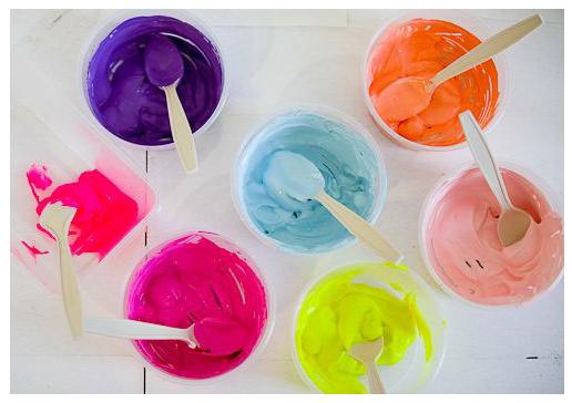 Inspiração decorativa para uma semana alegre. Blog Achados de Decoração