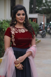 Actress Aathmika in lovely Maraoon Choli ¬  Exclusive Celebrities galleries 015.jpg