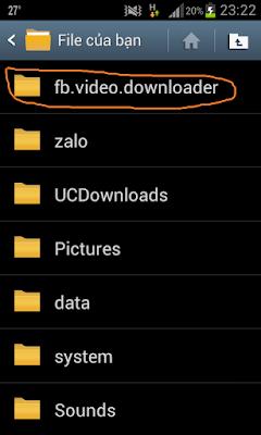 Hướng dẫn chi tiết tải video facebook trên điện thoại android