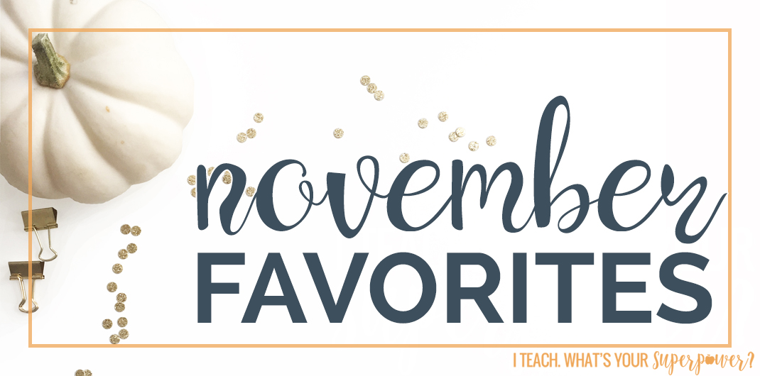 A time saving new flat iron, a new winter soup favorite, and more favorites from November.