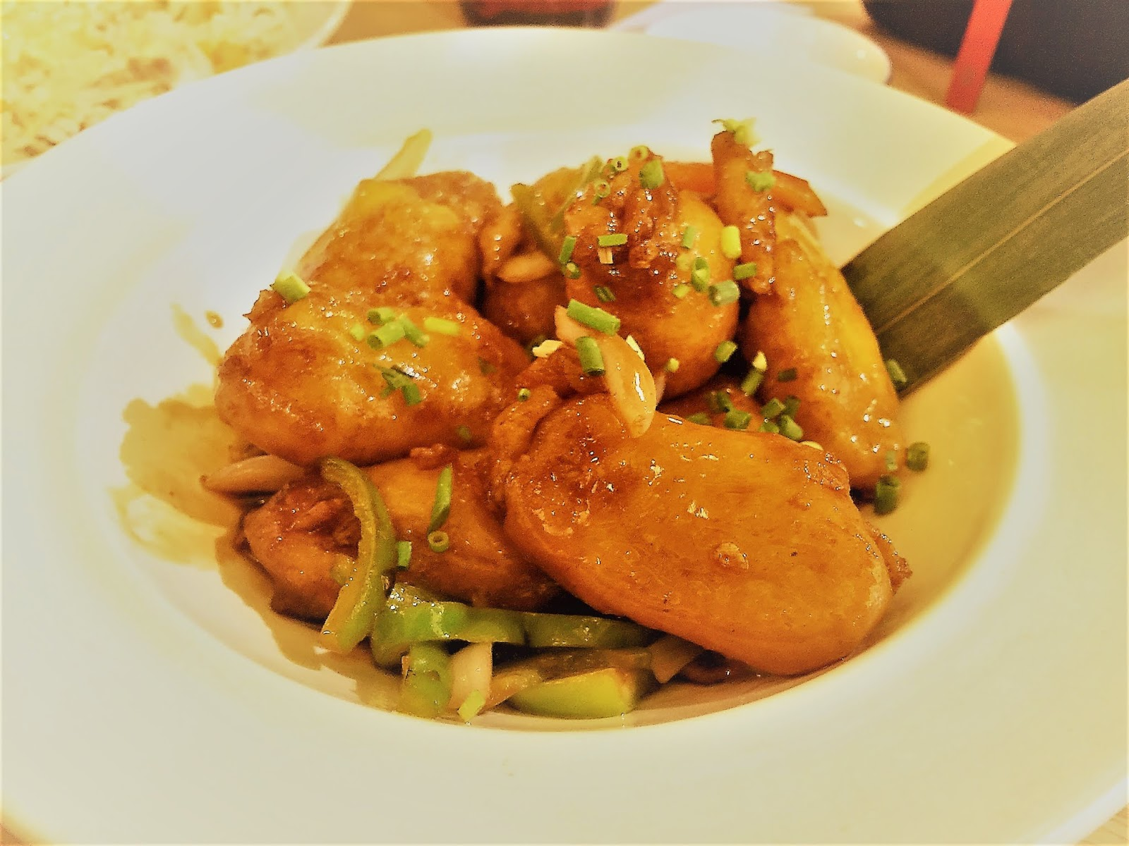 Jing Ting in City of Dreams Manila's Wok-fried Sweet and Sour Pork Belly (PHP410)