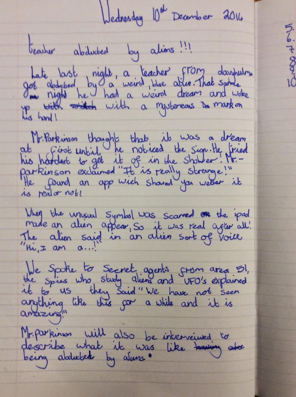 writing a magazine article ks2 technologies