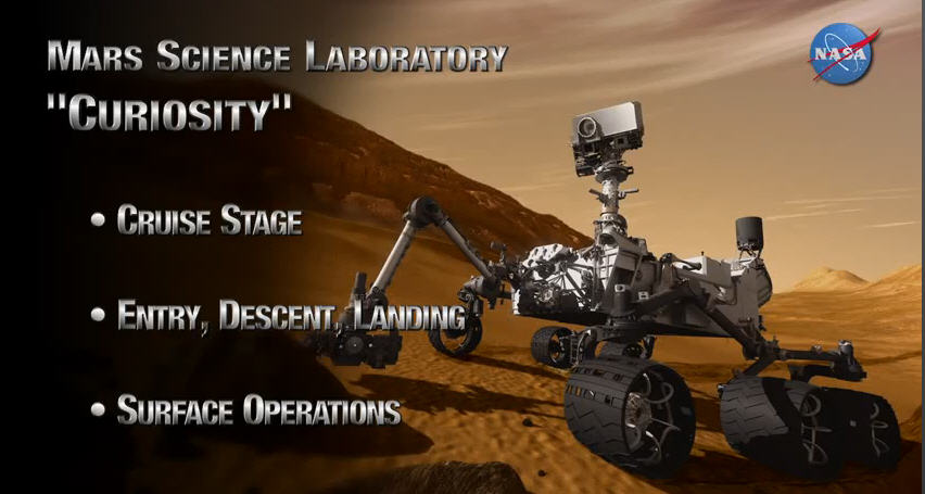 AMAZING VIDEOS: Mars Science Laboratory Curiosity Rover ...