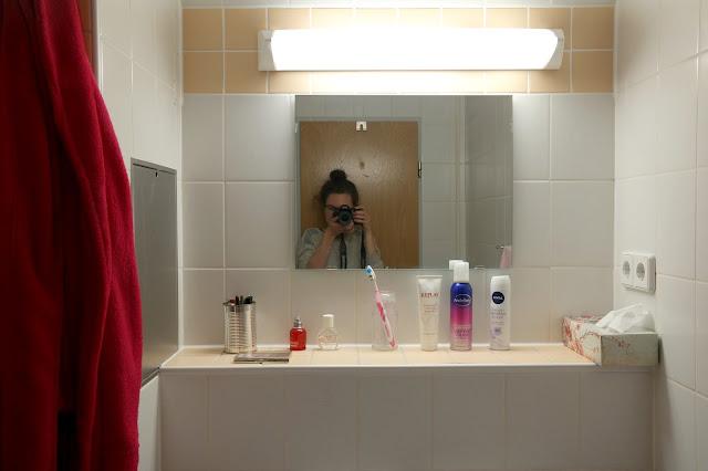 Studentenwohnung Badezimmer recyle