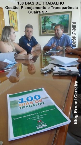 100 dias de Trabalho Prefeito Zé Eduardo Guaíra-SP