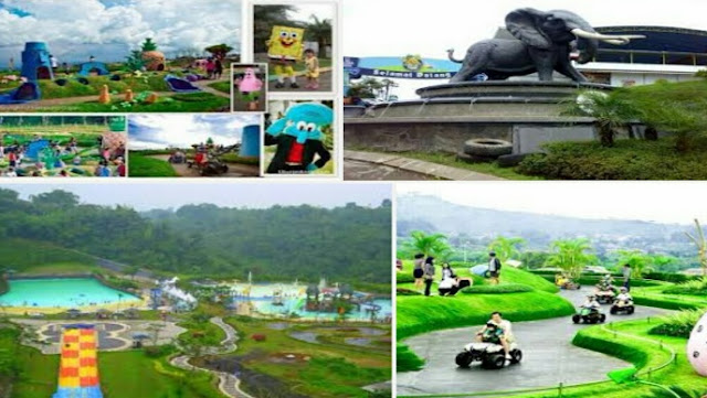 informasi wisata kampung gajah mengenai wahana permainan