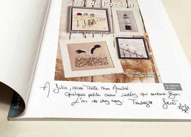 Париж, рукодельный салон Creations & savoir-faire-2015, porte de versailles, вышивка крестом, французская вышивка, Изабель Вотье, Isabelle Vautier