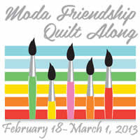 Moda Friendship Quilt Along
