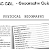 Geography PDF Download for SSC CGL, CHSL & Competitive Exams