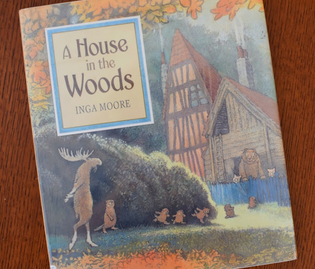 A House In The Woods, part of September Reading Roundup - favorite book finds from my family to yours.