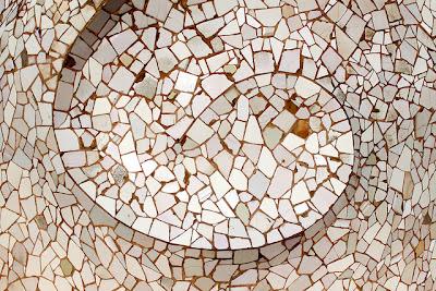textura mosaico espiral