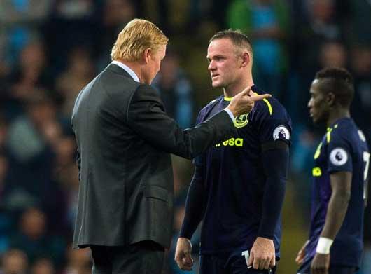 Everton trừng phạt Rooney để làm gương