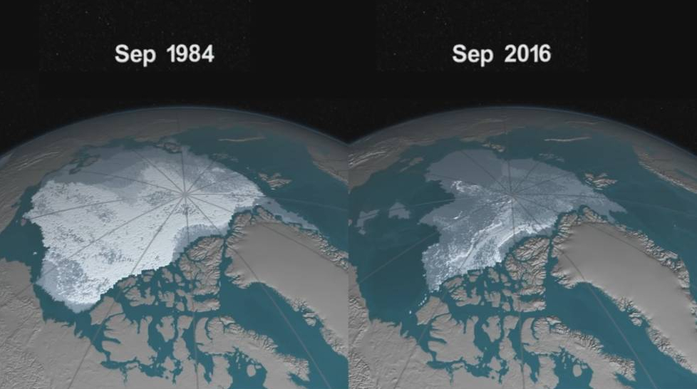 Allarme della Scienza: L'Artico finirà il ghiaccio per l'estate del 2030.