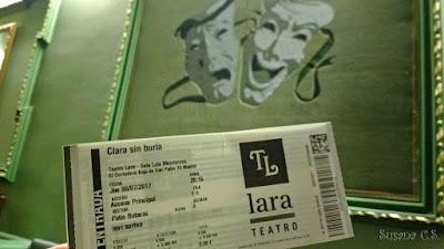 Clara sin burla - Teatro Lara
