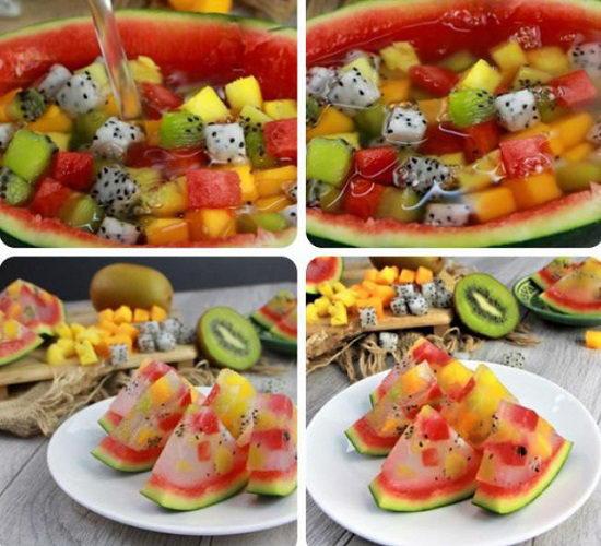 Thạch rau câu trái cây