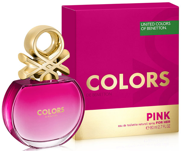 Colors de Benetton Pink nueva fragancia femenina