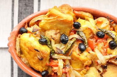 recette de morue portugal olives