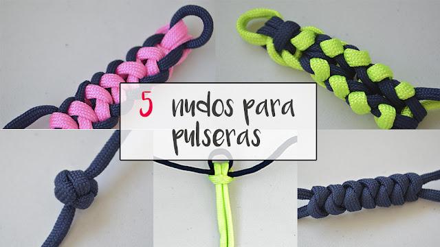 5 nudos para pulseras