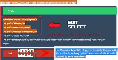 Cara mengubah background text saat di block / select