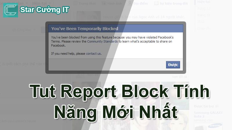 Tut Report Block Tính Năng Mới