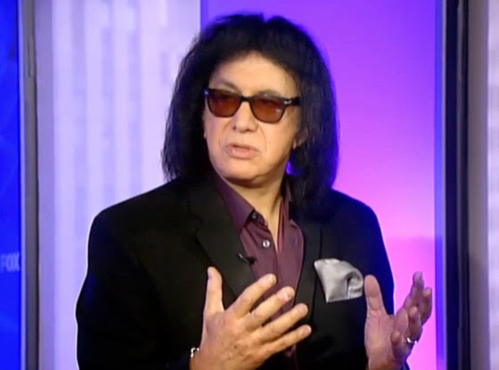 Rocker Gene Simmons Banned for Life by Fox News