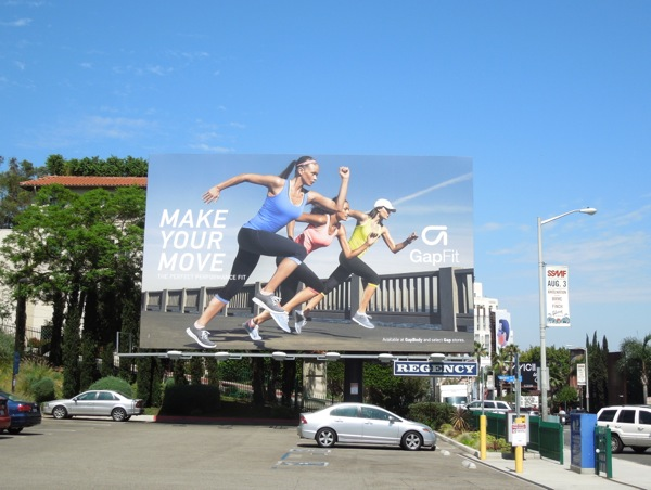 Make Your Move Gap Fit S13 billboard