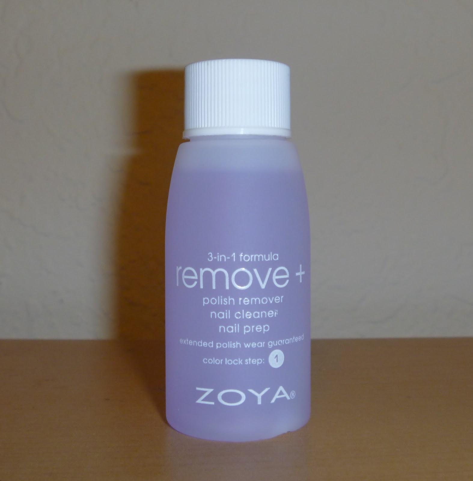 Colourvida Zoya Remove Plus Nail Polish Remover Review