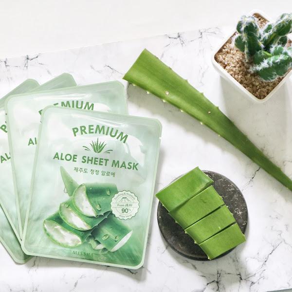 Review Sheet Mask Korea Yang Mengandung 90% Aloe Vera Asli Dari Pulau Jeju