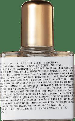 Composiçã: óleo Huile Prodigieuse da Nuxe